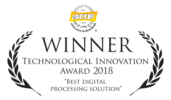 Technetix SCTE award winner