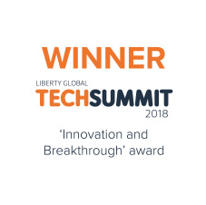 Technetix LG Summit award winner